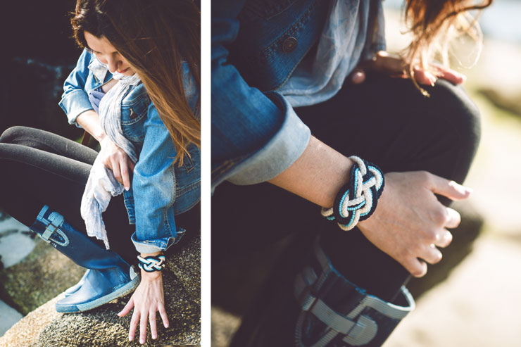 diy bijoux creer un bracelet noeud marin