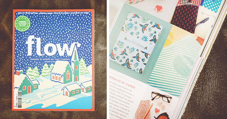 publication carnet flow mag