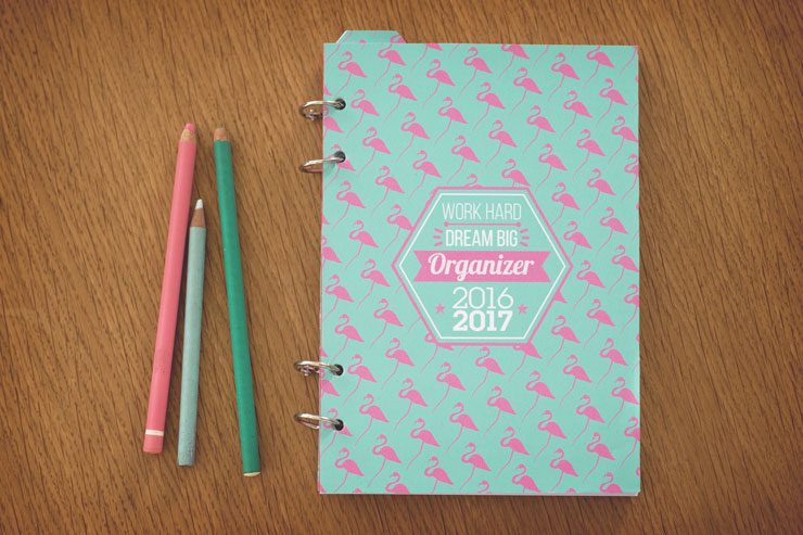 Fabuleux DIY Back to school // Créer son agenda 2016-2017 QS38