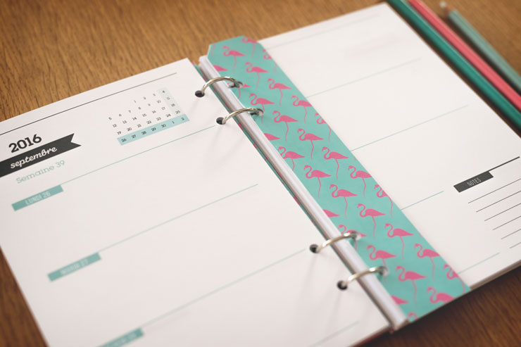 Diy Back To School  Crer Son Agenda