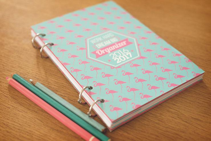 DIY agenda planner organiseur 2016 2017